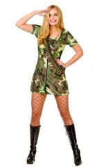 Army Girl Costume (SF0148)